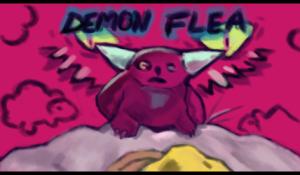 Demon Flea Start Screen