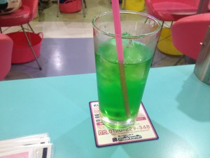 Maid Cafe Melon Soda